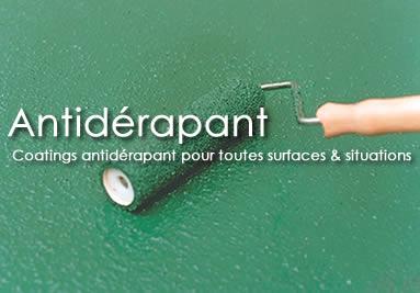 Coatings Antidérapants pour toutes surfaces et situations