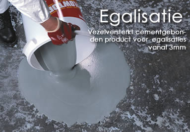 Flowtop Egalisatie mortel