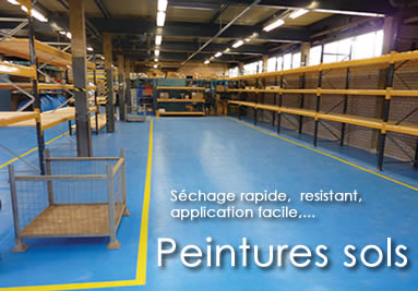 Coatings, peintures sols industriels