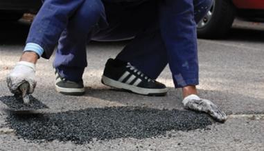 Concrex Asphalt Repair System, système de réparation pour sols en asphalte